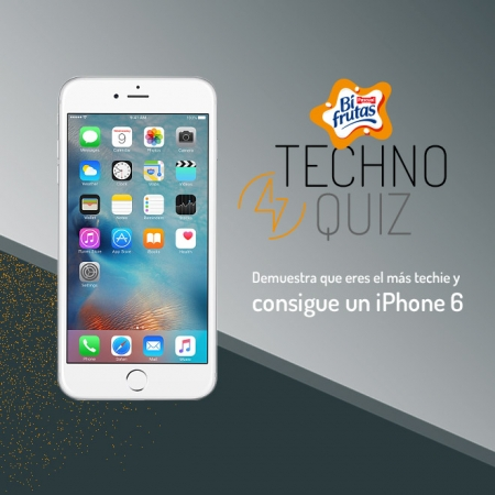 Consigue un Iphone 6 con Bifrutas