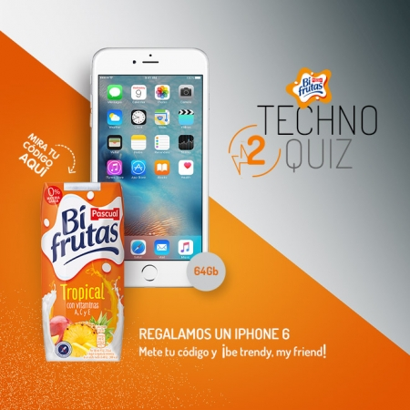 Bifrutas te regala un Iphone 6